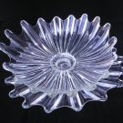 Fedeeral Glass Celestial Bowl and Underplate