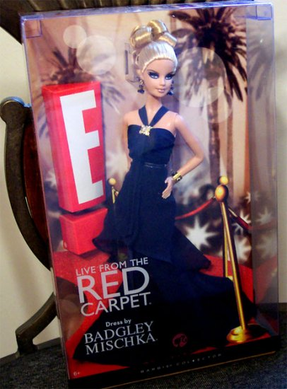 NRFB  E! Live from the Red Carpet by Badgley Mischka Barbie Doll read
