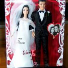 Elvis and Priscilla Barbie Doll and Elvis Doll Giftset 2008 NRFB