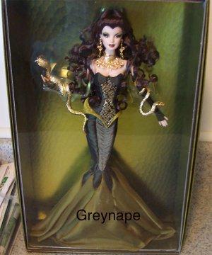 NRFB Medusa Barbie doll NEW only 6500 made! 2008 Gold Label NRFB (A)