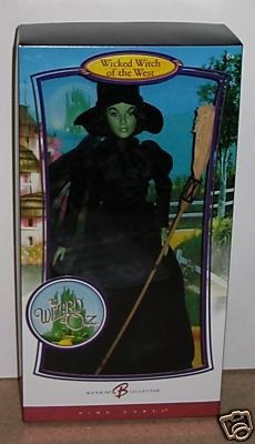 The Wizard of Oz  Wicked Witch of the West Barbie Doll   MNRFB  NRFB