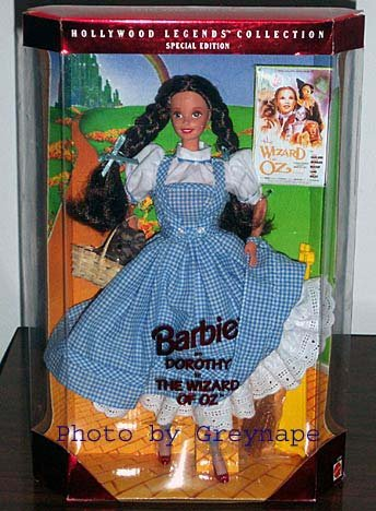 1995 Barbie as Dorothy in The Wizard of Oz NRFB Collector Edition