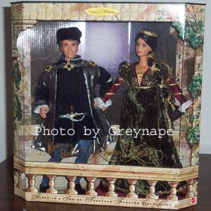 Ken and Barbie as Romeo & Juliet  1998 LIMITED!!