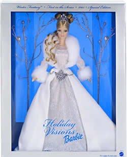 2003 Holiday Visions Winter Fantasy  NRFB