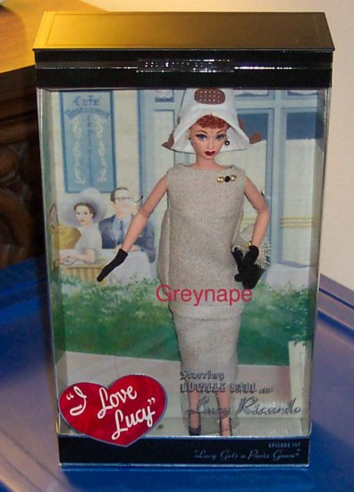 Lucy Gets A Paris Gown Barbie   NRFB