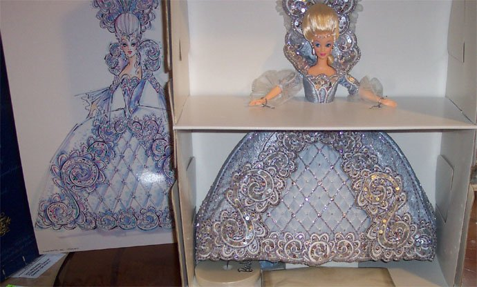 Madame Du Barbie Doll  NRFB Bob Mackie