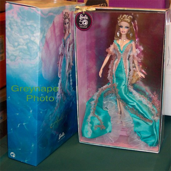 Barbie Doll as Aphrodite NRFB Mystical series Gold Label or make offer!