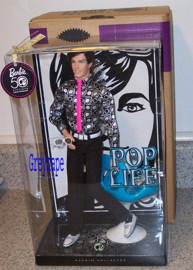 Pop Life Ken Platinum BFC Exclusive NRFB SOLD OUT !!! MAKE OFFER