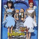 The Flintstones Barbie Doll Giftset Silver Label NRFB  Betty and Wilma
