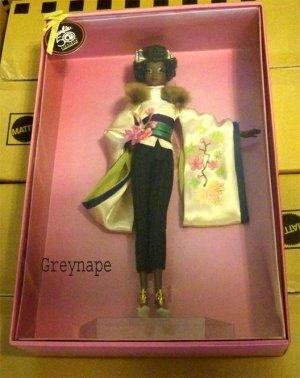 Byron Lars Ayako Jones Barbie Doll Gold Label NRFB