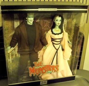 The Munsters Giftset 2001 NRFB Pop Culture Barbie Ken or make offer