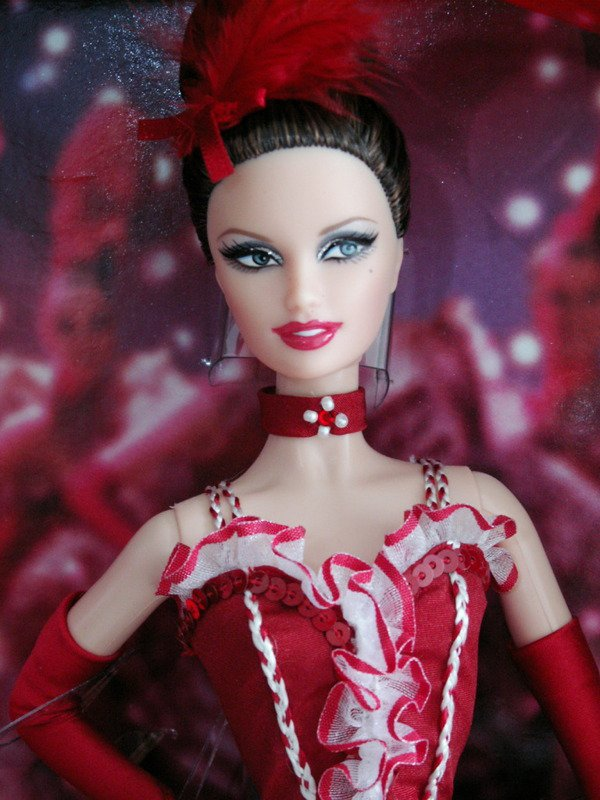 Moulin Rouge Barbie Doll NEW NRFB Fantasy doll 2011