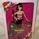 BARBIE Hard Rock Cafe Doll Rockabilly Tattoo Gold Label 2009 *~*MNRFB*~* HTF