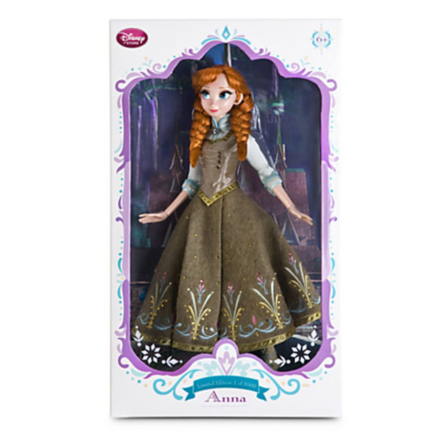 Limited Edition Anna  Doll - Frozen Fever - 17'' NRFB 2015 open to offers