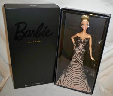 2014 COLLECTORS EDITION GOLD LABEL ZUHAIR MURAD BARBIE NRFB