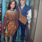 Pocahontas and John Smith Doll Set - Disney Fairytale Designer Collection NRFB