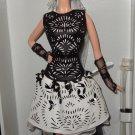 Laser-Leatherette Dress Barbie Platinum label doll NRFB Mattel Less then 1,000 made