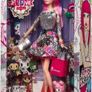 2015 Black Label Barbie Collector 10th Anniversary Tokidoki PINK HAIR  Barbie doll NRFB CMV57