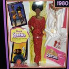 BARBIE 1980 Reproduction Black Barbie Doll My Favorite Barbie 2009 (A)
