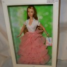 Birthday Wishes Barbie Silver Label Peach and white dress NRFB