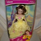 Disney Princess Belle 2001 Brass Key NRFB Yellow Gown Porcelain Doll (READ)