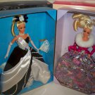 Mattel 2 dolls Midnight Waltz and Starlight Waltz dolls Barbies NRFB
