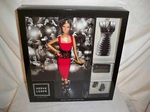 Mattel 2013 Designer Herve Leger by Max Azria Barbie Doll  NRFB Gold Label