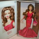 Birthday Wishes Silver Label Barbie Doll NRFB #C6229 Mattel 2004 Creasing to box
