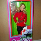 1987 Vintage Canadian Mountie Barbie dolls of the World NRFB #4928