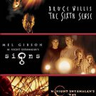 The Sixth Sense Signs The Village (Triple Feature 3-DVD Set) BRAND NEW!! movies