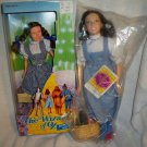 The Wizard of OZ DOROTHY & TOTO 2 dolls (1) NRFB and (1) Still in plastic baggie 87-88