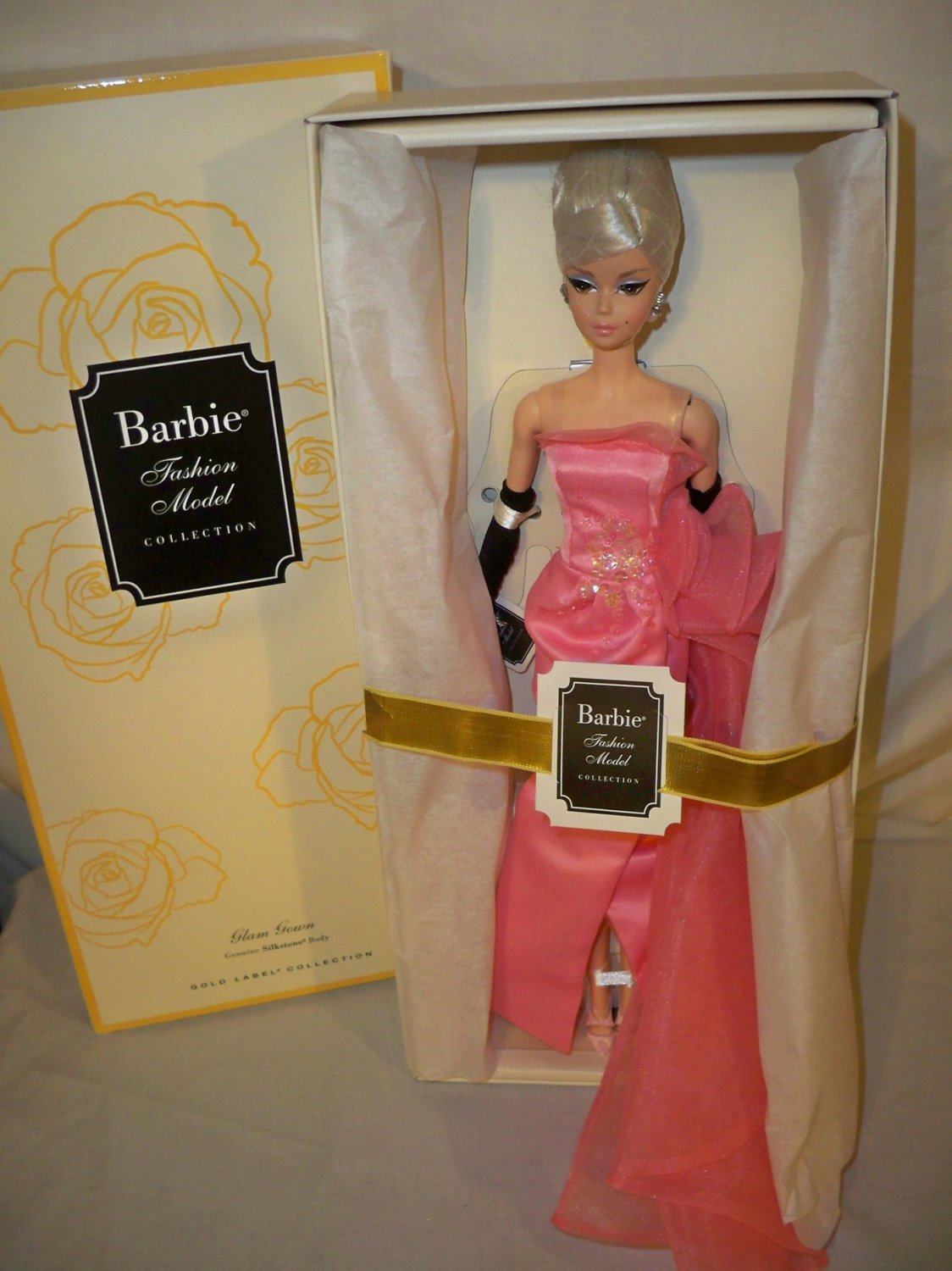 BFC Exclusive Glam Gown Silkstone Posable Barbie Doll NRFB 2016