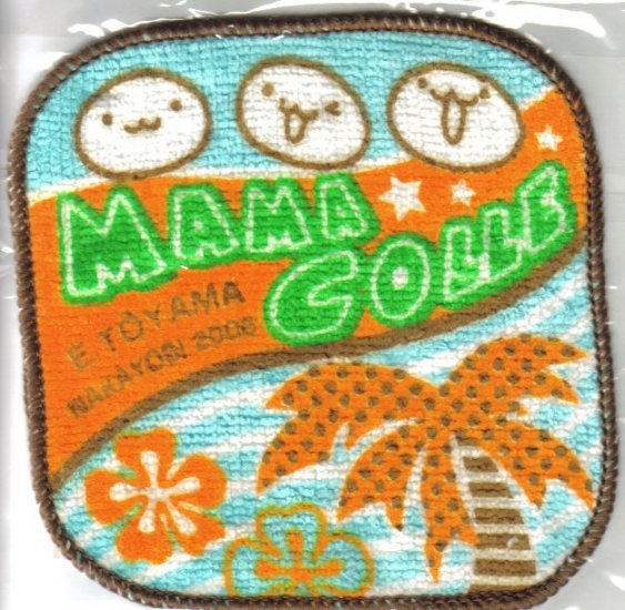 "Nakayoshi ""Mama Colle"" mini washcloth"