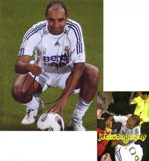 EMERSON SIGNED REAL MADRID SOCCER 8X10 PHOTO PIC PROOF SIGNING