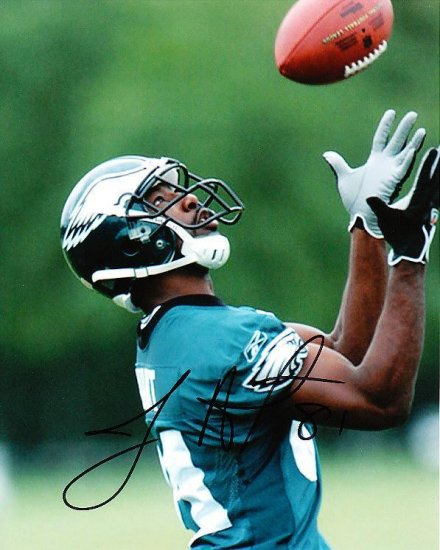JASON AVANT SIGNED EAGLES 8X10 PHOTO