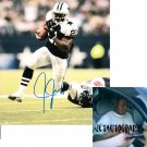 JULIUS JONES SIGNED COWBOYS 8X10 PHOTO PIC PROOF SIGNING
