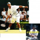 JAMES BLAKE SIGNED TENNIS 8X10 PHOTO PIC PROOF SIGNING