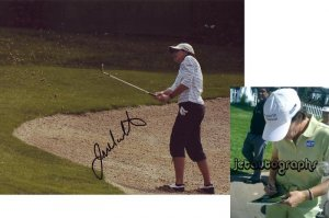 JULIE INKSTER SIGNED LPGA 8X10 PHOTO PIC PROOF SIGNING