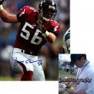 KEITH BROOKING SIGNED FALCONS 8X10 PHOTO PIC PROOF SIGNING