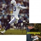 MIKE VANDERJAGT SIGNED COLTS 8X10 PHOTO PIC PROOF SIGNING