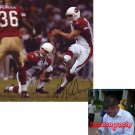 NEIL RACKERS SIGNED CARDINALS 8X10 PHOTO PIC PROOF SIGNING