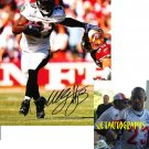 WILLIS McGAHEE SIGNED RAVENS 8X10 PHOTO PIC PROOF SIGNING