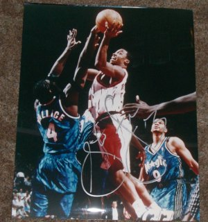 STEVE FRANCIS SIGNED ROCKETS 16X20 PHOTO PIC PROOF SIGNING