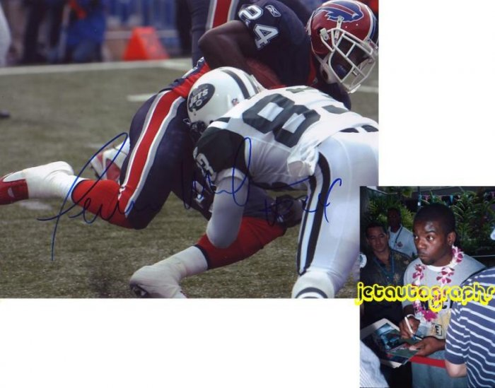 TERRENCE MCGEE SIGNED BILLS 8X10 PHOTO PIC PROOF SIGNING