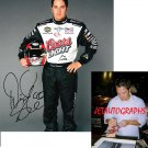 DAVID STREMME SIGNED NASCAR 8X10 PHOTO PIC PROOF SIGNING