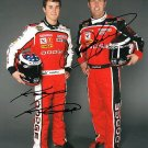 KASEY KAHNE JEREMY MAYFIELD SIGNED NASCAR 8X10 PHOTO PIC PROOF SIGNING