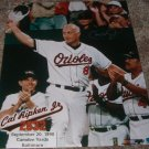 CAL RIPKEN JR SIGNED ORIOLES 16X20 PHOTO EXACT PIC PROOF IRON MAN