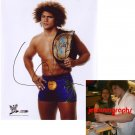WWE SUPERSTAR CARLITO SIGNED 8X10 PHOTO PIC PROOF CHAMP