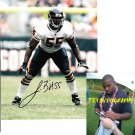 LANCE BRIGGS SIGNED BEARS 8X10 PHOTO PIC PROOF SIGNING