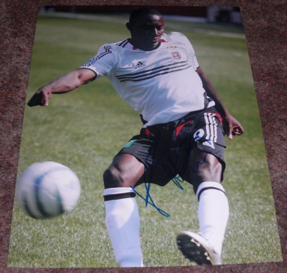 FREDDIE ADU SIGNED TEAM USA 11X14 SOCCER PHOTO PIC PROOF